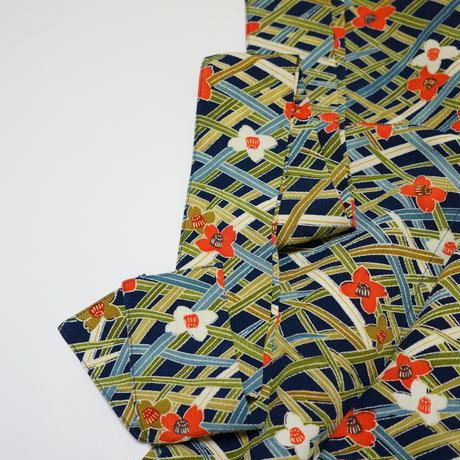 重ね草模様【タックラップスカート】