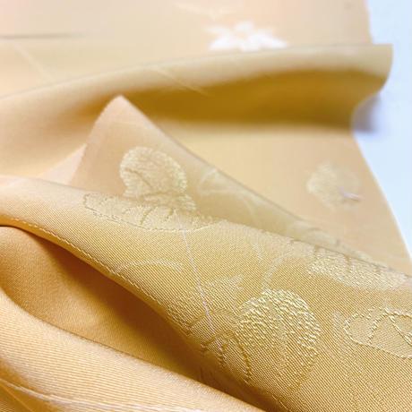 葉模様地紋【ギャザーラップスカート】