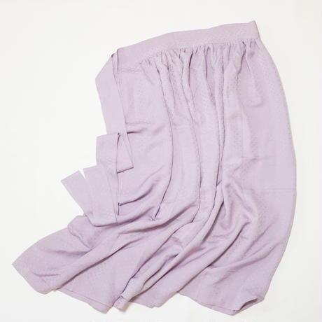 総籠目地紋【ギャザーラップスカート】