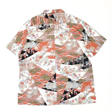 総菊地紋に草花模様【L】