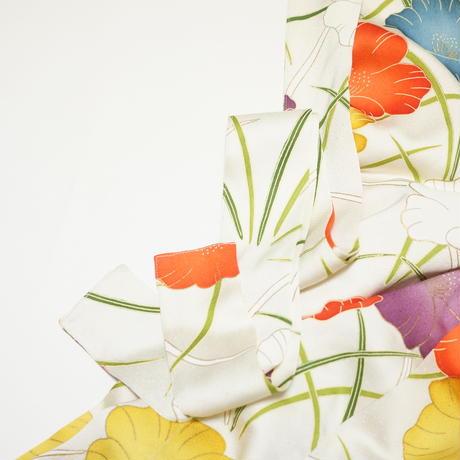 大花模様【タックラップスカート】
