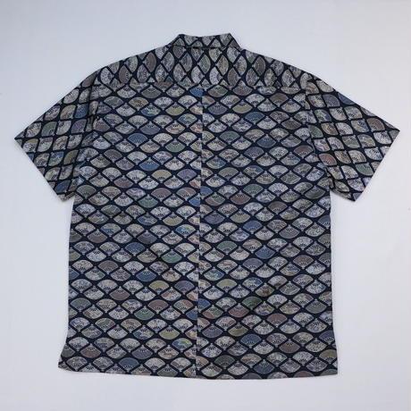 扇模様【L】【ケニシャツ】