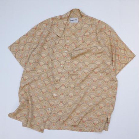 青海波模様 【L】【ケニシャツ】