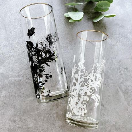 ★ガラス用★ Flower Modern/ブラック