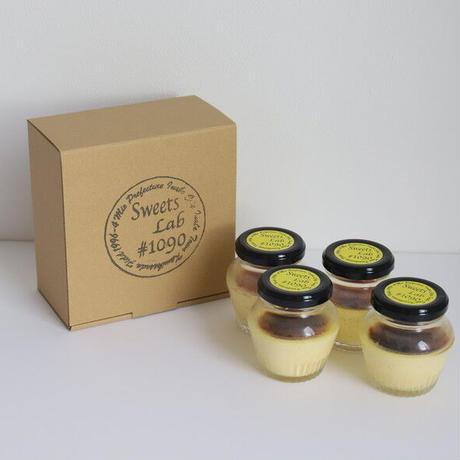 【Sweets Lab #1090】チーズ好きのための濃厚チーズカタラーナ4個セット(ケリーストア限定)