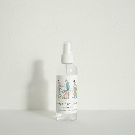 【東海クラリオン】 ケリーストア限定 IELU 除菌スプレー/カチナツミ・イラスト携帯用ボトル付き