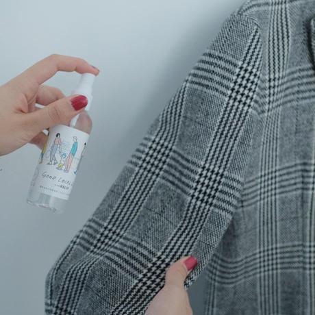 【東海クラリオン】 ケリーストア限定 IELU 除菌スプレー/カチナツミ・イラスト携帯用ボトル付き 2本セット ※送料無料