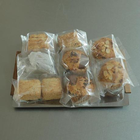 【粉灯(ことう)】焼き菓子おまかせセット(マフィン・スコーンなど)