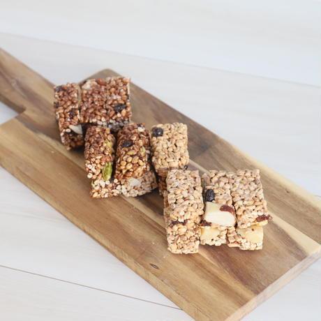 【ラマリー】 グルテンフリーもち大麦抹茶&ココアパウンドカップケーキ(小)と大麦シリアルバーの詰め合わせ