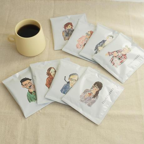 【KANNON COFFEE】カンノンコーヒー オリジナルギフトBOX(ドリップバッグ・カフェオレベース・しゃちほこクッキー・トートバッグ)