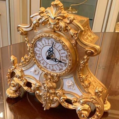 FBAI ゴールド置き時計