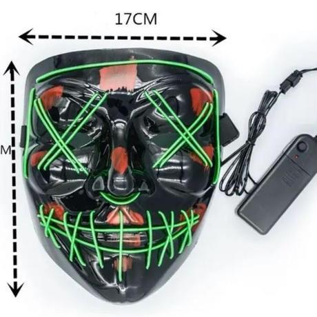 アノニマス ハロウィン LED光るマスク レペゼン地球