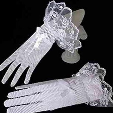 ウエディング ショート 手袋