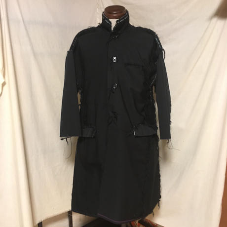 japanese work sleeve coat