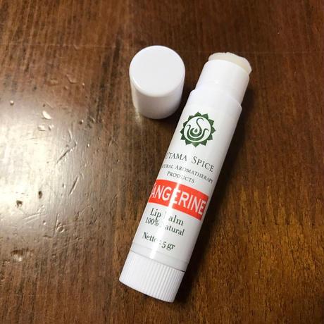 UTAMA SPICE 100%ナチュラルリップクリーム タンジェリン ※この商品をご要望の方は必ず詳細をご覧ください
