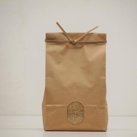 自然栽培米ヒノヒカリ 2Kg 玄米 平成30年産
