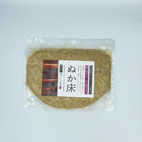 〈自然栽培〉乳酸発酵のプロが仕立てた熟成糠床500g 袋漬けタイプ