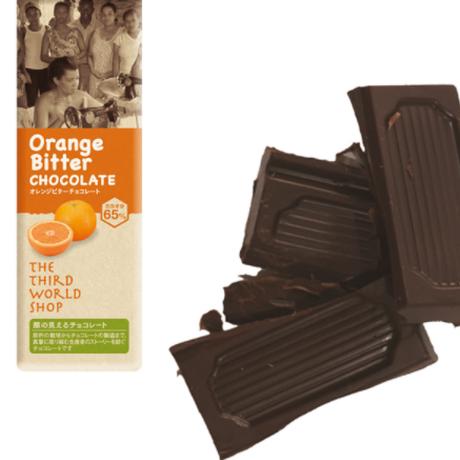 フェアトレードミニチョコ オレンジビター 40g 【オーガニック 有機栽培】【添加物不使用】【冬季限定】