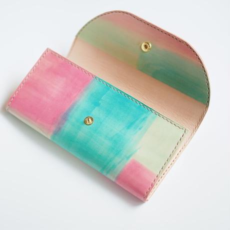 革の長財布【マカロン】Macaron 001