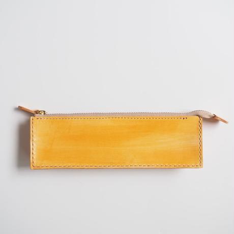 ボックス型ペンケース Orange 001
