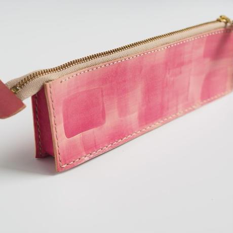 ボックス型ペンケース PINK 001