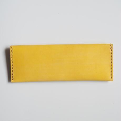 フラットなペンケース Yellow 001