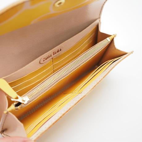 長財布 Yellow 001 タンポポ