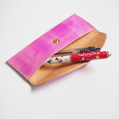 フラットなペンケース Deep Lilac 001