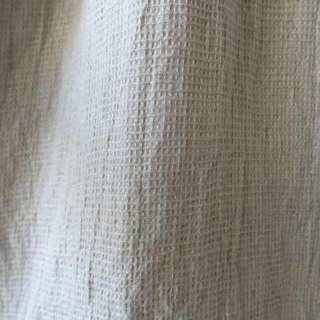 ichiAntiquités 601228  Linen Waffle Dress /  B : NATURAL