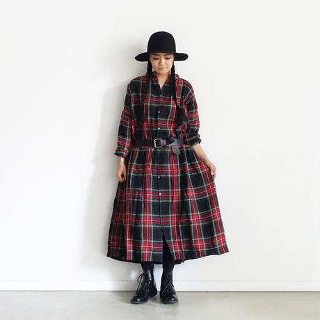 ichiAntiquités 500000 Leather Belt / B : BLACK