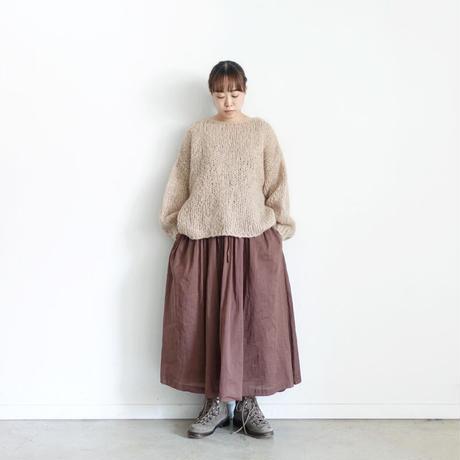 ichi 210418 Volume Gather Skirt / 2 COLORS