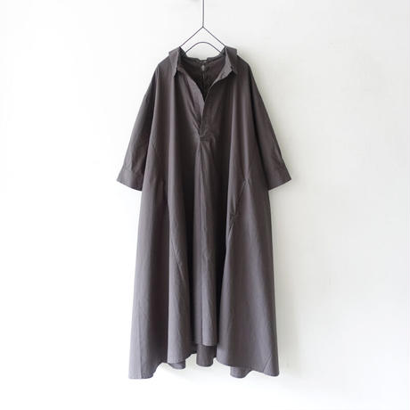 ichi 210112 Lace Up One Piece  / D : CHARCOAL