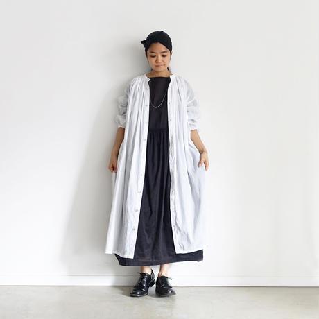i c h i  201026 Volume Pintuck Shirt Dress  / 3 COLORS