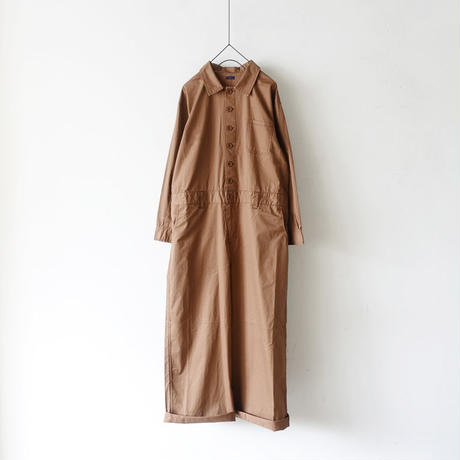 ichi 190529 Jump Suit / BROWN