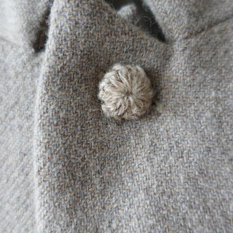 ichiAntiquités 100624 Wool mix Tweed Jacket Coat / BEIGE