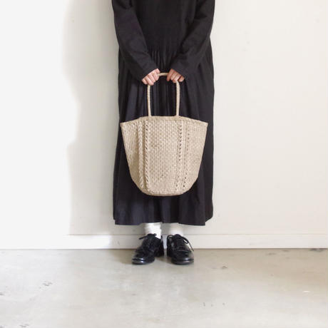 KYUCA KY0315 Leather Tote / GREGE