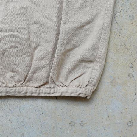 ichi 190939 Balloon Pants / WHITE・BEIGE