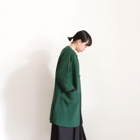 ichi 190467 Kanoko Knit Long Cardigan / 2 COLOR