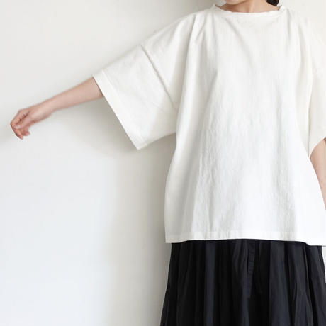ichi 201155 Wide Sleeve T-Shirt / 2 COLOR