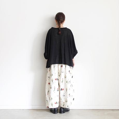 ichi 201249 Linen Pullover / 3 COLORS