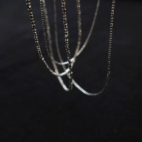 noy. 1957 Karen Silver Necklace / A : SILVER