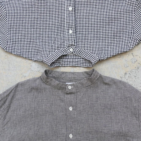 ichi 200104 Linen Cotton Shirt / 2 COLOR