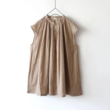 ichi 210114 Pintuck French Sleeve Shirt / 3 COLORS