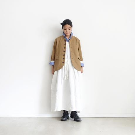 ichiAntiquités 100320 Cotton Wool Jacket / BEIGE