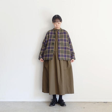 ichi 200726 Check Jacket / 2 COLORS