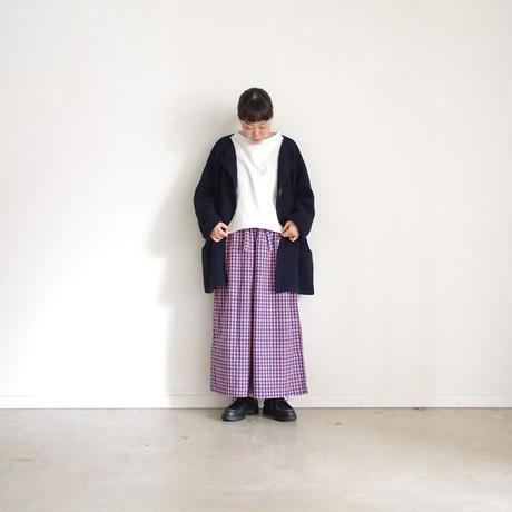 ichi 190442 Cotton Pullover / WHITE