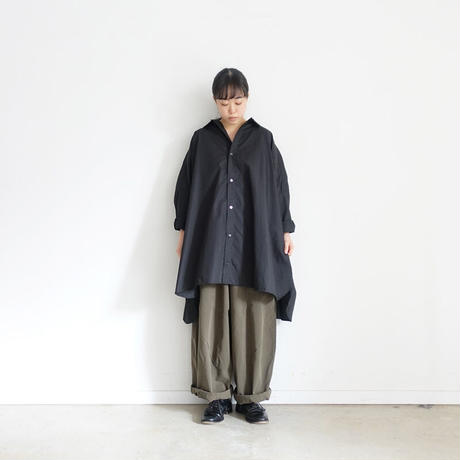ichi 200622 Wide Cargo Pants / 2 COLORS