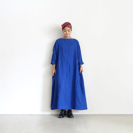 ichiAntiquités 500302 Herdmans Linen  Dress / BLUE