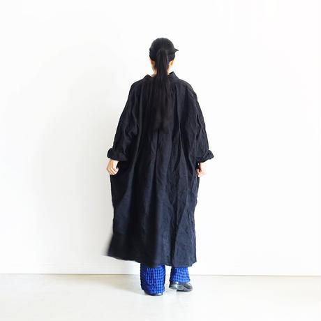 【ONLINE LIMITED】ichiAntiquités 600646 Cotton Wool Gingham Pants+Bag / B : ROYAL BLUE GINGHAM PANTS