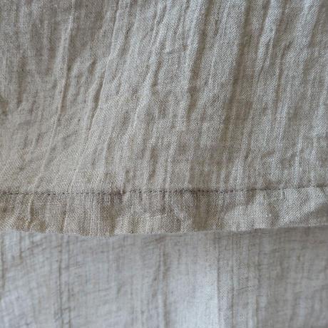 ichiAntiquités 601216  Linen Over Blouse / 3 COLORS